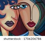 Abstract Digital Illustration...