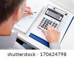 close up of a businessman... | Shutterstock . vector #170624798