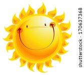 Shining Yellow Smiling Sun...