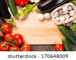 tomatoes  cucumber  garlic ... | Shutterstock . vector #170648009