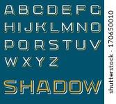 vector font design light...   Shutterstock .eps vector #170650010