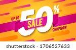 vector illustration 50 percent... | Shutterstock .eps vector #1706527633