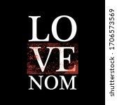 love venom slogan graphic...   Shutterstock .eps vector #1706573569