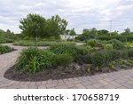 gardens and historic home in... | Shutterstock . vector #170658719