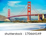 golden gate  san francisco ... | Shutterstock . vector #170664149