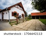 Traditional Horse Barn In...