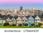 the painted ladies of san... | Shutterstock . vector #170664329