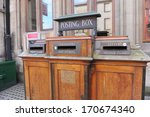 Vintage Royal Mail Post Box In...