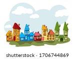 Cute Cartoon Houses Collectio...