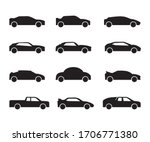 vehicle set icon illustration.... | Shutterstock .eps vector #1706771380