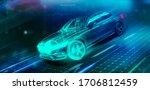 high speed futuristic sports...