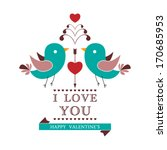 vector invitation card for... | Shutterstock .eps vector #170685953