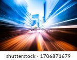 Abstract Motion Speed Effect On ...