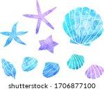 watercolor style illustration... | Shutterstock .eps vector #1706877100