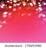 hearts background. | Shutterstock . vector #170691980