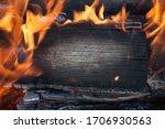 Burning Black Horizontal Board...