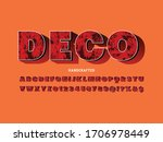 font  shadow effect alphabet ... | Shutterstock .eps vector #1706978449