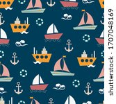 Seamless Cute Pattern Made With ...