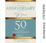 anniversary background | Shutterstock .eps vector #170705954