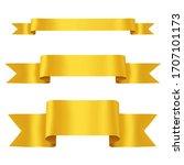 hand drawn decorative three... | Shutterstock .eps vector #1707101173
