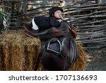 A Newborn Child In Equestrian...