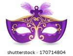 carnival mask   Shutterstock .eps vector #170714804