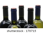 wine bottles | Shutterstock . vector #170715