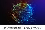 concept of network  internet... | Shutterstock . vector #1707179713