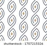 minimal seamless wallpaper... | Shutterstock .eps vector #1707215326