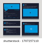 social media template for text  ...