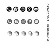 simple thin icons sets for...