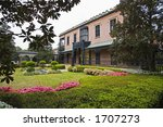 sherman's headquarters in the... | Shutterstock . vector #1707273