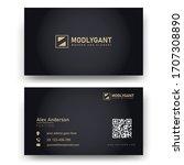 creative and elegant modern...   Shutterstock .eps vector #1707308890