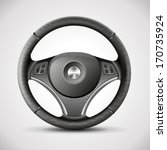 steering wheel  detailed... | Shutterstock .eps vector #170735924