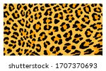 jaguar  leopard  cheetah ... | Shutterstock .eps vector #1707370693