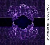 invitation vintage card | Shutterstock . vector #170737970