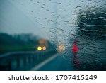 Rainy Weather On The Highway ...