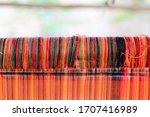 Ancient Weaving Machine Teak...