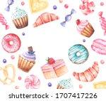 "watercolor frame ""favorite... | Shutterstock . vector #1707417226"