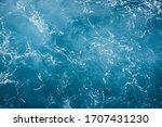 Blue Ocean Water Texture...