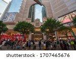 Hong Kong   2020  People Stand...
