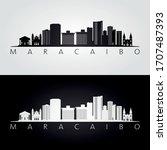 maracaibo skyline and landmarks ...   Shutterstock .eps vector #1707487393
