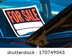 generic for sale sign mounted... | Shutterstock . vector #170749043