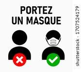 """Portez Un Masque  """"wear A Face..."""