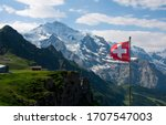 Wengen  lauterbrunnen valley ...