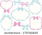 ribbon frames | Shutterstock .eps vector #170760650