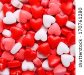 Heart Candy Background. ...