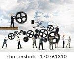 conceptual image of...   Shutterstock . vector #170761310