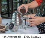 Prepare To Make Coffee By...