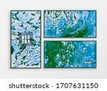 hand painted oil texture...   Shutterstock .eps vector #1707631150